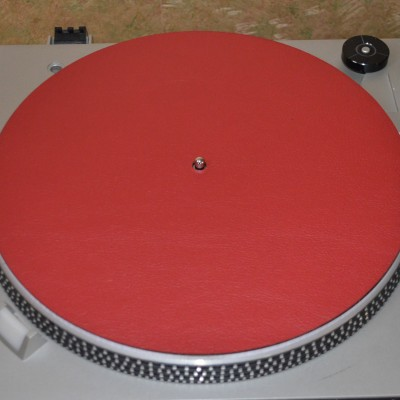 Split Leather LP Mats - 11.5""
